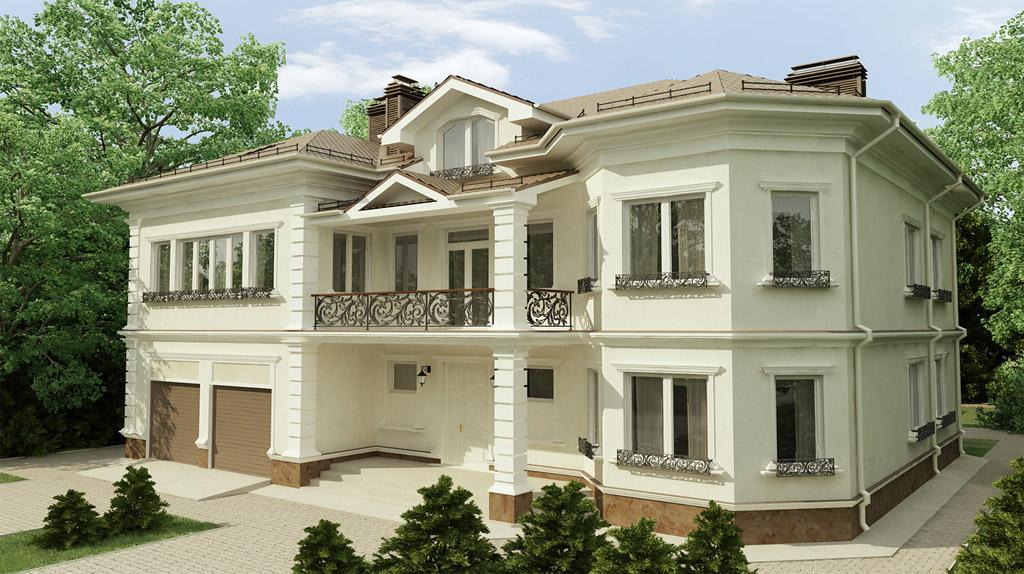 Коттедж под ключ в Киеве