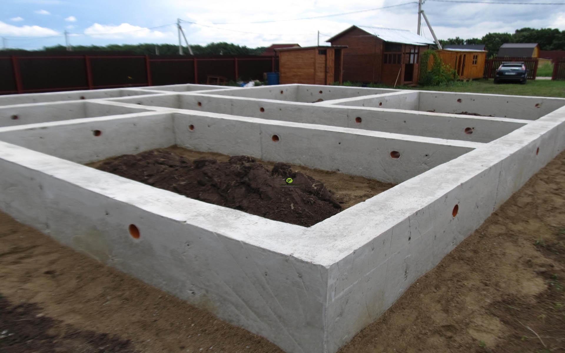 Строительство цоколя дома под ключ в Киеве