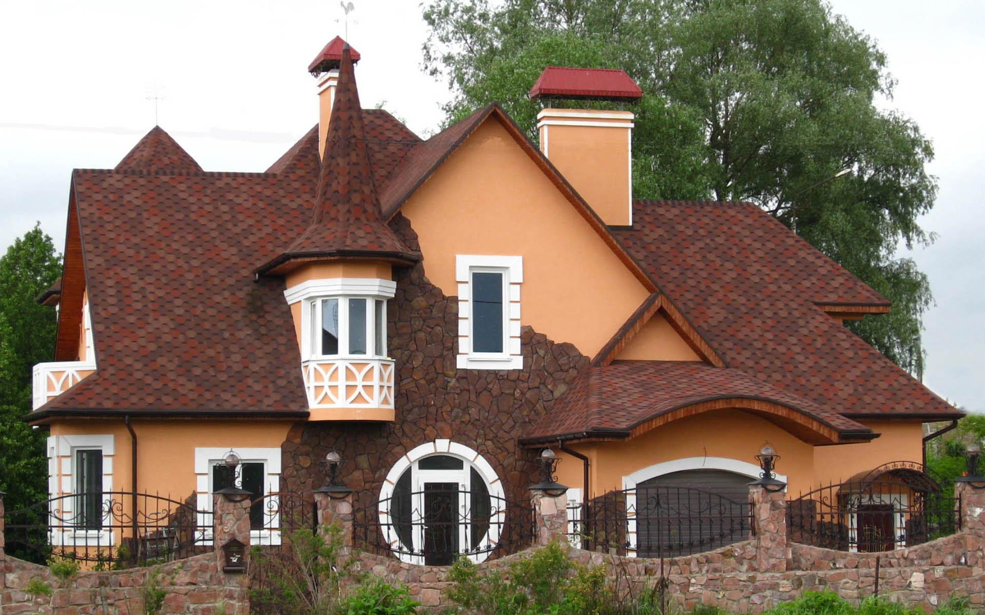 Монтаж крыши дома под ключ в Киеве